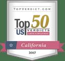 Top 50 US Verdicts Badge